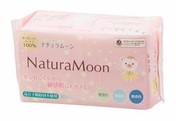 ナチュラムーン 生理用ナプキン/敏感肌にもやさしい使い捨て ...